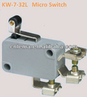 KW-7-32L roller lever screw terminal micro switch