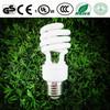 Spiral energy saving lamp half spiral light lamp made by Xiamen manufacturer