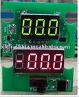Digital vehicle meter (power supply DC4-30V measure range DC4-30V and current 10A,20A,30A...via shunt)