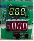 Digital vehicle meter (power supply DC4-30V measure range DC4-30V and current 10A,20A,30A...via shunt)