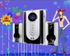 Hot selling portable 2.1 multimedia speaker system