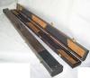 Leather fishing rod box