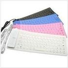 folding waterproof keyboard silicone keyboard 85 keys