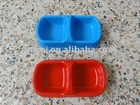 Plastic/Fashion pet feeder bowl