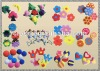 Flower Shape Sponges/ Bath Sponge/ Mochalka