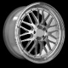 Replica Alloy Wheel Rims BBS Style Staggered