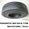 pneumatic shaped solid tyre,16X5-9 solid tyre