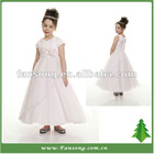 Lovely Custom Made Ball Gown Flower Girl Tulle Dress