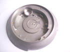 Al die casting part with painting