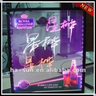 HS-double sided LED writing board/LED display board