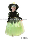 2012 Kids Halloween Witch Cosplay/Witch dress up/Witch Costume