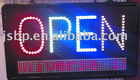 Led Sign board,open with display 4