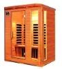 sauna room-3person super-luxury carbon plate infrared sauna cabin