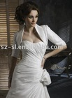 Short sleeve bridal jacket taffeta SL-96