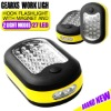 27 LED Work Light Hook Flashlight with Magnet and 2 Light Modes for GearXS