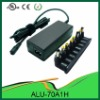70W universal charger for laptop camera with 10 Output Pins