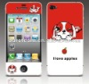 Beautiful 2012 hot Cartoon Screen Protector For Iphone 4G
