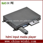 SD USB CF ports HDMI video digital signage media player