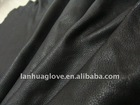 AB grade black waterproof finished deer skin grain geniune leather for gloves and bags