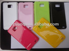 Silicone Back Case Cover for Mobile Phone Samsung Galaxy S2 i9100