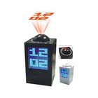 Black Desktop LCD Mini Digital Star Projection Clock
