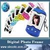 Manufacturers Supply Colorfu Portable Key Chain 1.5inch Digital Photo Frame