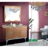 Hot sell home furniture double sinks bathroom vanity