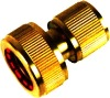 """Brass 3/4"""" Water Stop Connector LD6011(Brass Fittings)"""