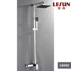 Single Handle Brass Wall-Mounted Bath Shower Faucet