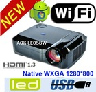 Smartbeam - Android 4.0 HD Home theater LED Projector - 2000 Lumens, LED, 3D Support, WiFi