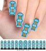 M1-005 Polish Water Print Nail Stickers