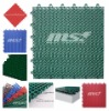 interlocking plastic flooring tiles