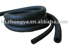 black rubber foam insulation tube in air conditioner