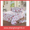 Hot selling 100% polyester cartoon baby bed sheet