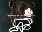 Cute bear hats animal crochet hats