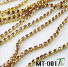 Various fashion new metal rhinestone trimming (MT-001)