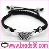 Fashion Cheap Heart Shape Bracelet De Shamballa BD-003