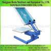 NS101 Manual 1 color screen printing press machine