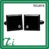 High quality black tungsten Cufflinks