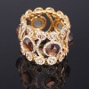 Fashion alloy crystal stones bangle