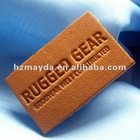 Embossed leather Badge