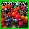 Factory cost big crystal soil assorted colors&style water beads toy