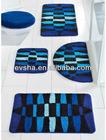 BLUE BATHMAT WHOLE SET BATHMAT (EV-G001-BM)