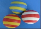 Colorful ball shaped pet toy