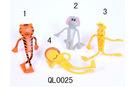 Pvc bendable toy