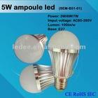 CE RoHS IEC approval ampoule led e27