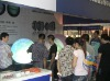 Hard seamless sphere display/ projector dome displayl /1.2 meter display in exhibition