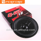 "QW12L 12"" car subwoofer"