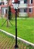 2 meter high Solar powered garden lamp