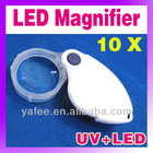 10X Pocket Folding Magnifier Jewelry Loupe O-887